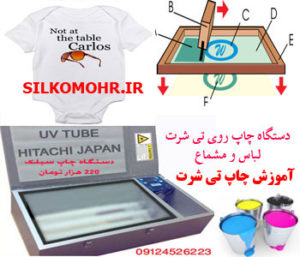 آموزش چاپ مستقیم روی تی شرت